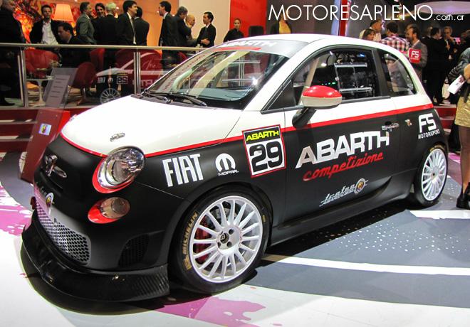Salon AutoBA 2015 - Fiat 500 Abarth 695 Assetto Corse Evoluzione