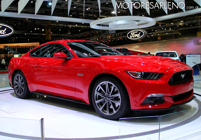 Salon AutoBA 2015 - Ford Mustang 2
