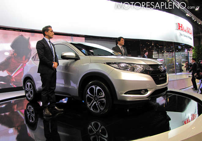 Salon AutoBA 2015 - Honda HR-V 1