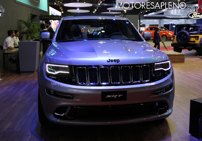 Salon AutoBA 2015 - Jeep Grand Cherokee SRT