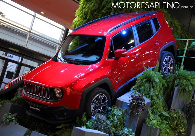 Salon AutoBA 2015 - Jeep Renegade 1