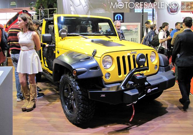 Salon AutoBA 2015 - Jeep Wrangler Mopar