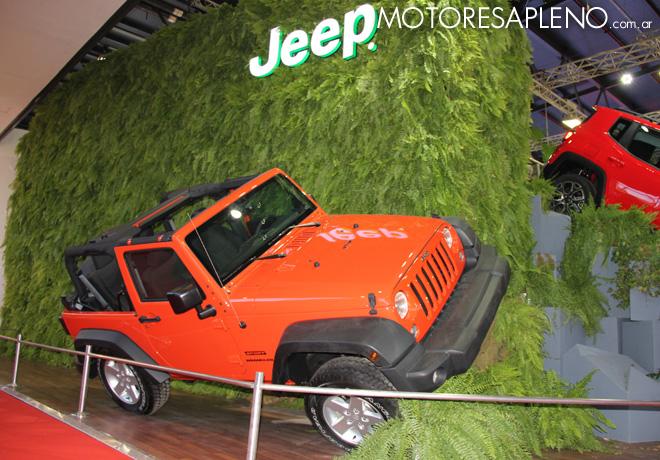 Salon AutoBA 2015 - Jeep Wrangler Sport