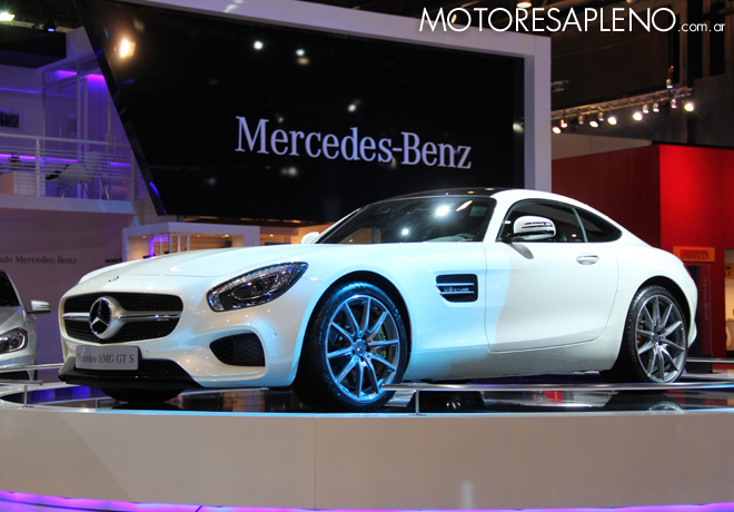 Salon AutoBA 2015 - Mercedes-Benz AMG GT S