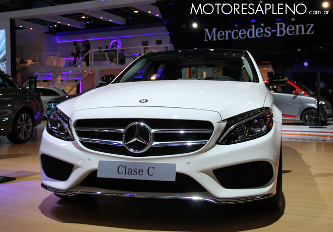Salon AutoBA 2015 - Mercedes-Benz Clase C