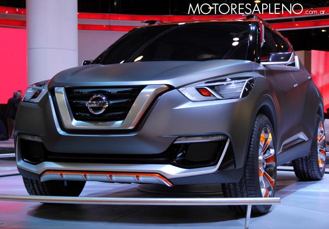 Salon AutoBA 2015 - Nissan Kicks Concept 1