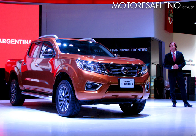 Salon AutoBA 2015 - Nissan NP300 Frontier