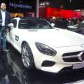Salon AutoBA 2015 - PIA - Entrega de Premio - Mercedes-AMG GTS - Mejor Auto de Produccion
