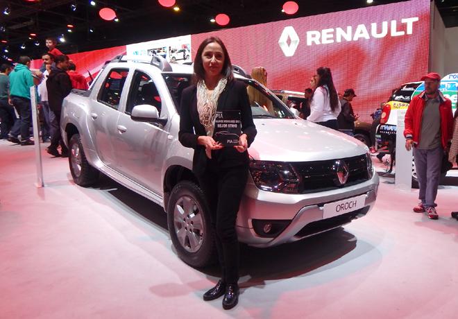 Salon AutoBA 2015 - PIA - Entrega de Premio - Renault - Mejor Stand