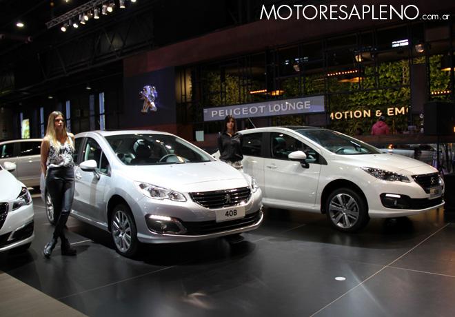 Salon AutoBA 2015 - Peugeot 408 y 308