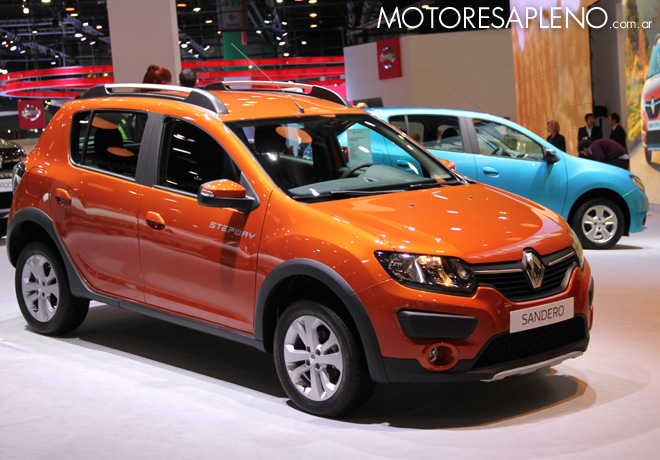 Salon AutoBA 2015 - Renault Sandero Stepway