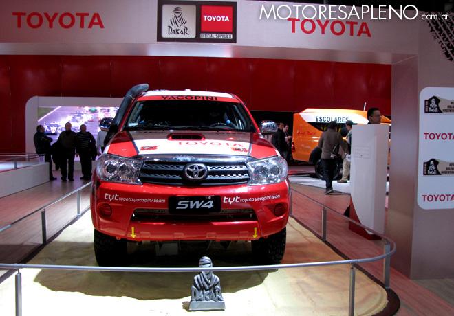 Salon AutoBA 2015 - Toyota SW4 Dakar