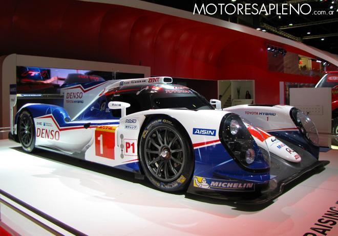 Salon AutoBA 2015 - Toyota TS040 Hybrid Le Mans