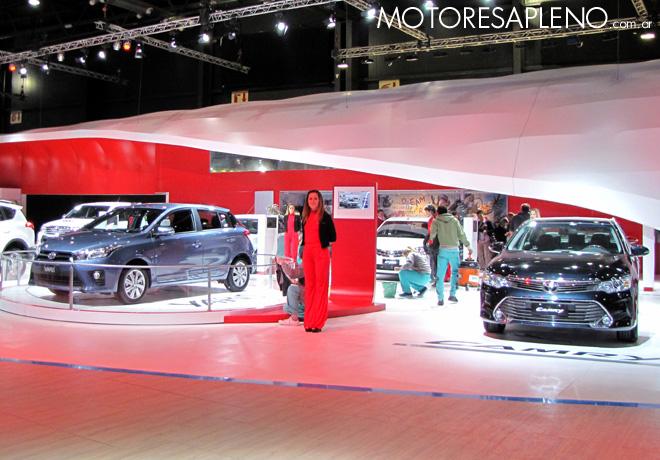 Salon AutoBA 2015 - Toyota Yaris y Camry