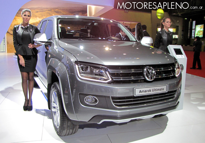 Salon AutoBA 2015 - VW Amarok Ultimate