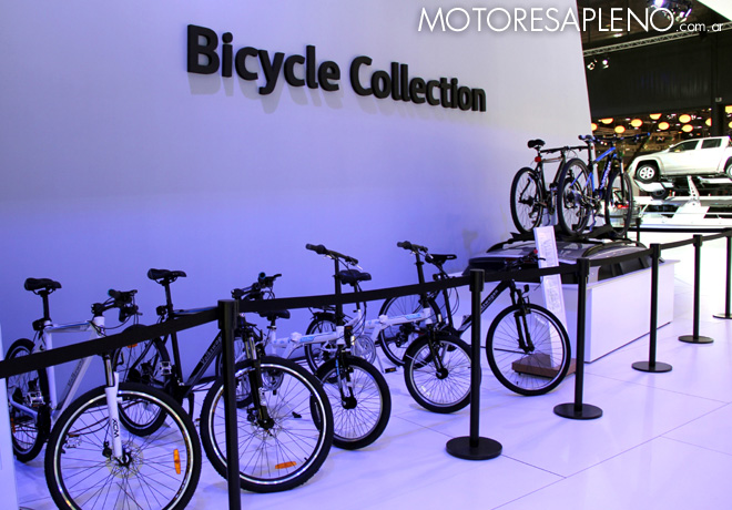 Salon AutoBA 2015 - VW Bicycle Collection