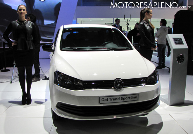 Salon AutoBA 2015 - VW Gol Trend Sportline