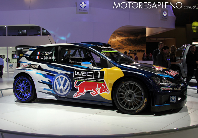Salon AutoBA 2015 - VW Polo R WRC