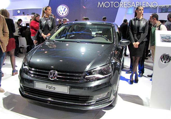 Salon AutoBA 2015 - VW Polo sedan 1