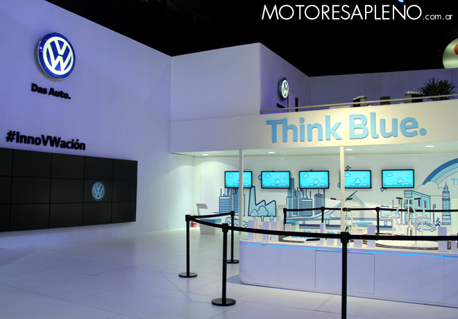 Salon AutoBA 2015 - VW Think Blue