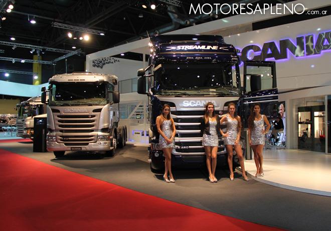 Scania estara presente en la 7ma edicion del Salon Internacional del Automovil de Buenos Aires