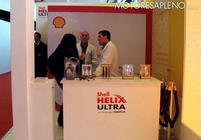 Shell V-Power Nitro esta presente junto a Shell Helix Ultra en el Salon del Automovil 1