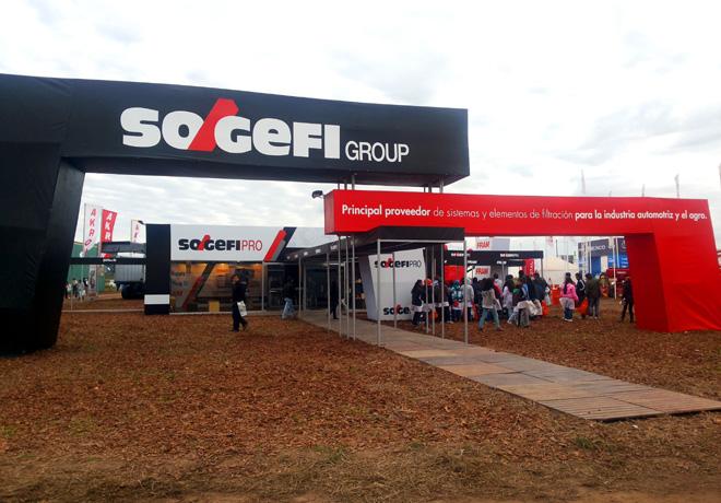 Stand de Sogefi en Agroactiva 2015