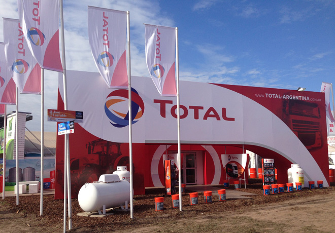 TOTAL estuvo presente en AgroActiva 2015 1