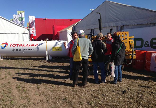 TOTAL estuvo presente en AgroActiva 2015 2