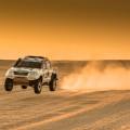 Toyota es el vehiculo oficial del Dakar