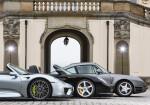 Tres superdeportivos Porsche - 918 Spyder - Carrera GT - 959