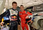 WRC - MotoGP - Sebastien Ogier - Andrea Dovizioso - VW Polo R - Ducati 1