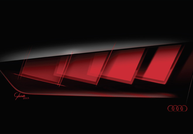 Audi OLED Technologie 1