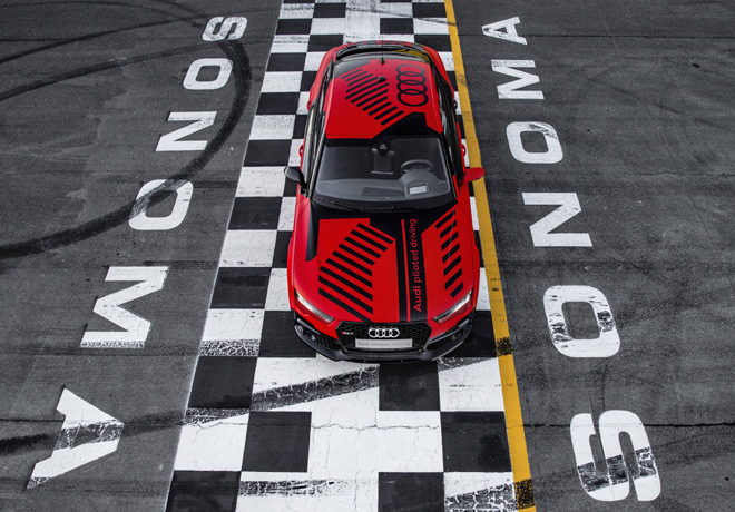 Audi RS7 piloted driving concept - Sonoma 1
