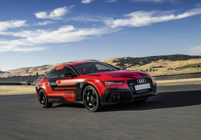 Audi RS7 piloted driving concept - Sonoma 2