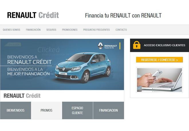 Espacio Cliente Renault Credit
