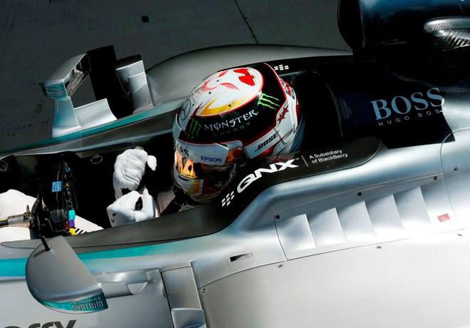 F1 - Gran Bretana 2015 - Carrera - Lewis Hamilton - Mercedes GP