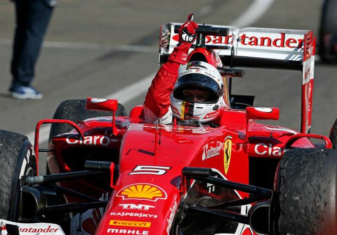 F1 - Hungria 2015 - Carrera - Sebastian Vettel - Ferrari