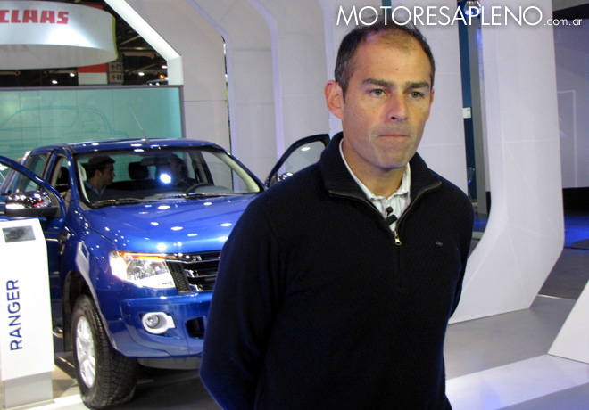 Ford - La Rural 2015 - Mariano Menendez - Gerente de Vehiculos Comerciales