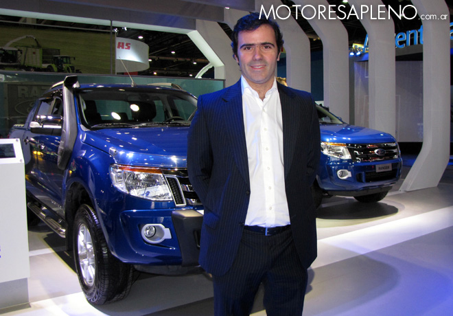 Ford - La Rural 2015 - Tomas Grignaschi - Gerente de Marketing y Posventa