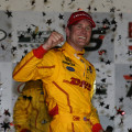 IndyCar - Iowa 2015 - Carrera - Ryan Hunter-Reay en el Victory Lane