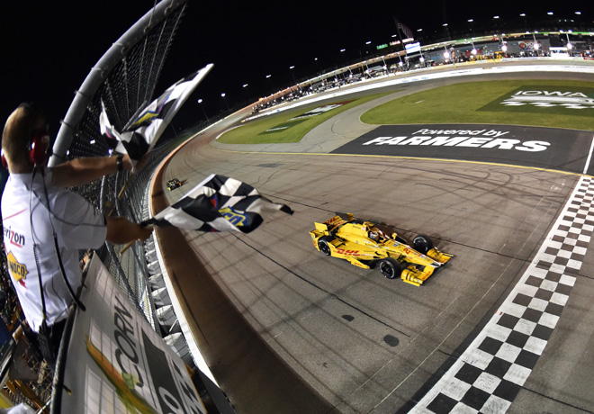 IndyCar - Iowa 2015 - Carrera - Ryan Hunter-Reay