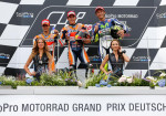 MotoGP - Sachsenring 2015 - Dani Pedrosa - Marc Marquez - Valentino Rossi en el Podio