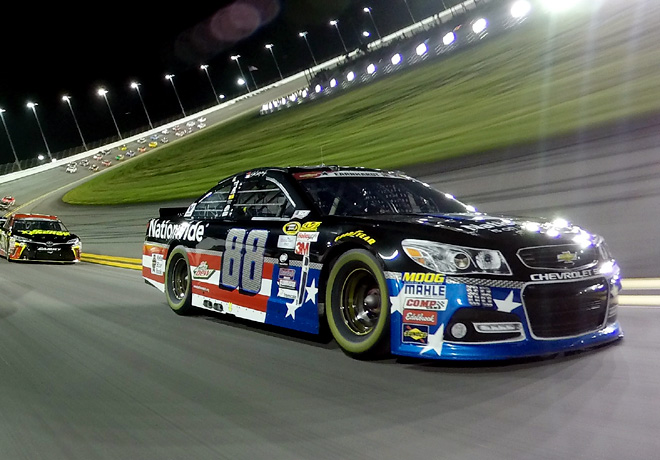 NASCAR - Daytona 2015 - Dale Earnhardt Jr - Chevrolet SS