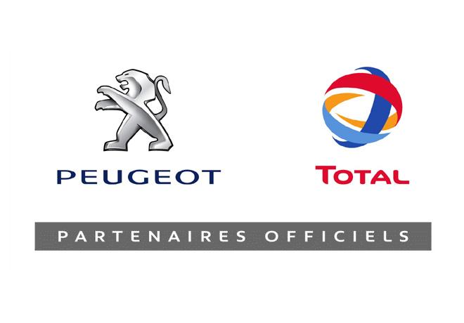 Peugeot - Total - Partenaires Officiels