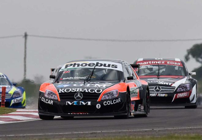 Top Race - Concepcion del Uruguay 2015 - Carrera 1 - Agustin Canapino - Mercedes-Benz