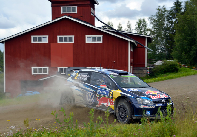 WRC en Finlandia – Día 2: Latvala y Ogier separados por apenas 2.6 segundos.