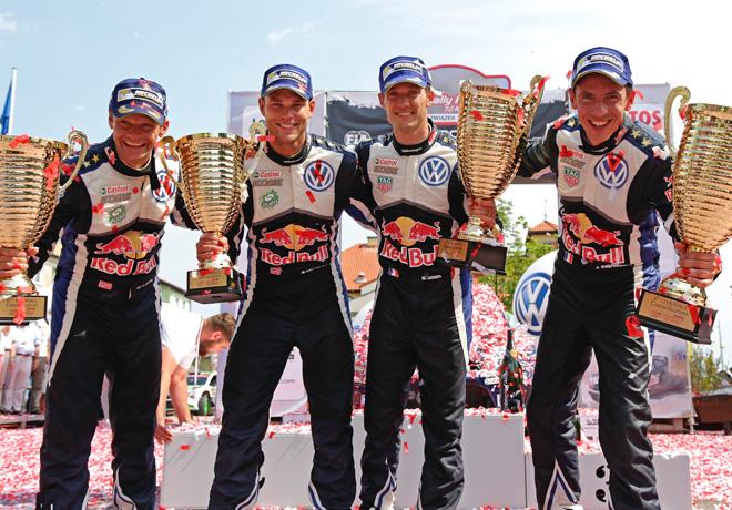 WRC en Polonia – Final: Quinta victoria sobre siete para Ogier en esta temporada.