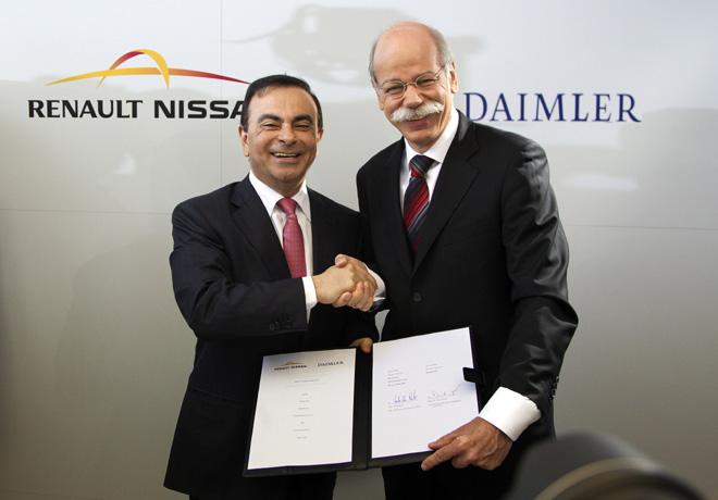 Alianza Renault-Nissan y Daimler -  Cinco años de proyectos de colaboracion en continua expansion