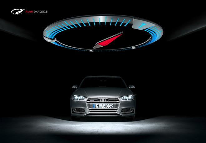 Audi en el Salon de Frankfurt 2015